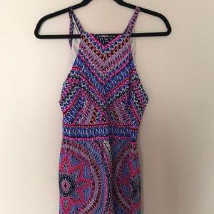 Alice & Trixie Silk Maxi Dress